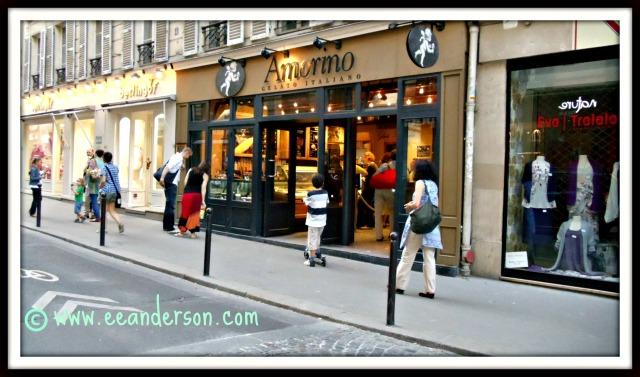 Amorin gelato Paris