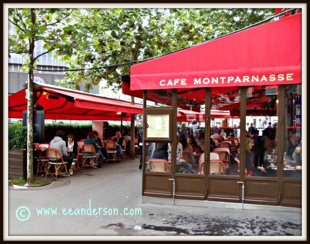 Cafe Montparnasse Paris