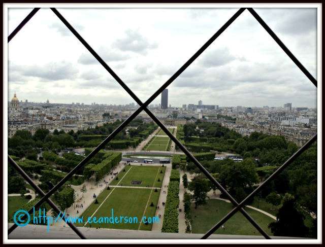 You can see the Tour Montparnasse in the distance.