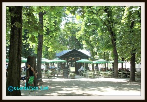 Luxembourg gardens cafe