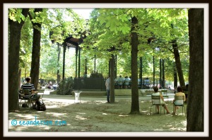 concert in Jardin du Luxembourg Paris