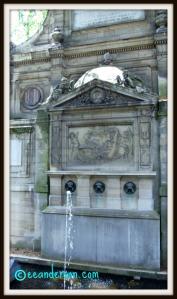 the Leda fountain