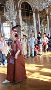 The serenade hall of mirrors Chateau Versailles