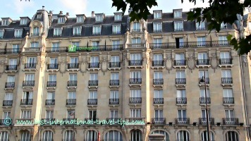 Holiday Inn near across from Gare de l'est Paris