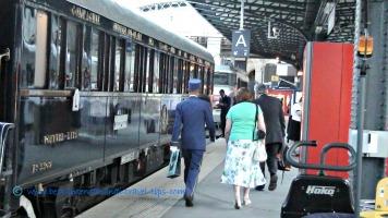 Bellman VSOE helping a passenger