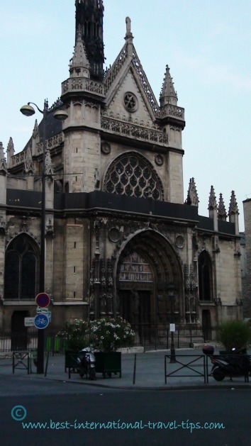 Church near Gare de l'est