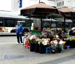 Flower vender
