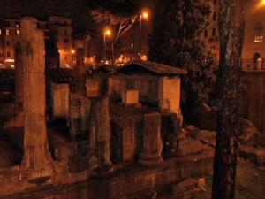 Ruins at Largo Argentina