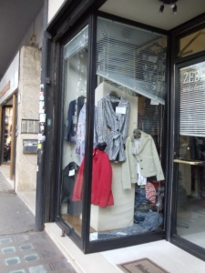 clothing store in Trastevere