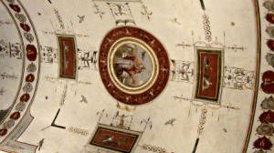 art on ceiling- Vatican museum