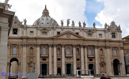 St Peters Cathedral Vatican city