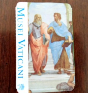 Vatican museum ticket