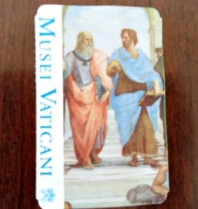 Vatican museum ticket