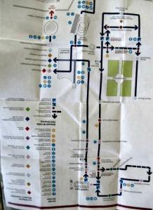 map of Vatican musrum