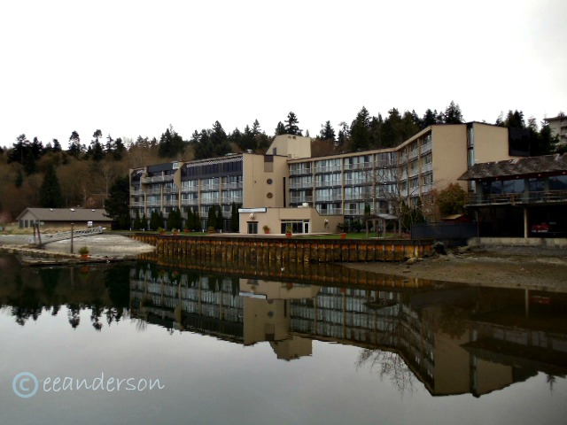 Waterside of Oceanfront suites Cowichan Bay