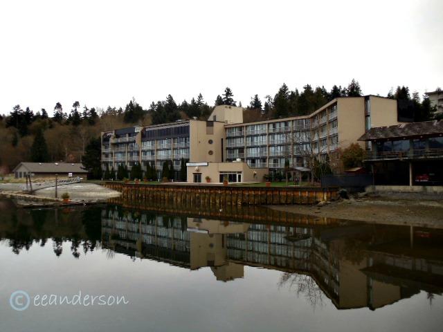 Waterside of Oceanfront suites Cowichan Bay