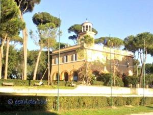 villa at villa borghese park